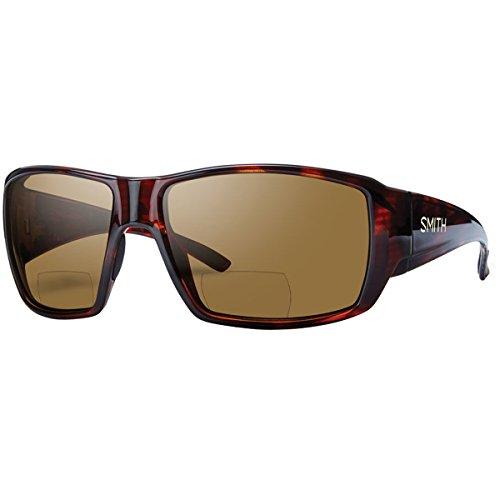 Smith Guides Choice Bifocal Polarized Sunglasses - Men's Matte Havana/Brown 2.50, One ()