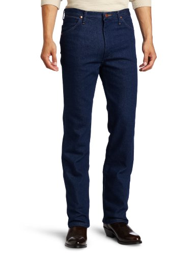 Wrangler Men's Western 5 Pocket Traditional Boot Cut Slim Jean,Indigo Stretch,33x30 Cowboy Cut Stretch Denim Jean