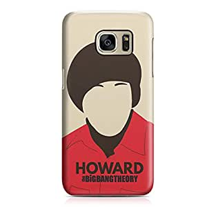 Samsung S7 Case Big Bang Theory Howard tv Show Metal Plate Light Weight Samsung S7 Cover Wrap Around