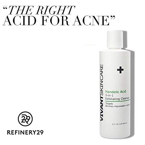 Vivant Skin Care Mandelic Acid 3-in-1 Exfoliating Cleanser, 8 ()