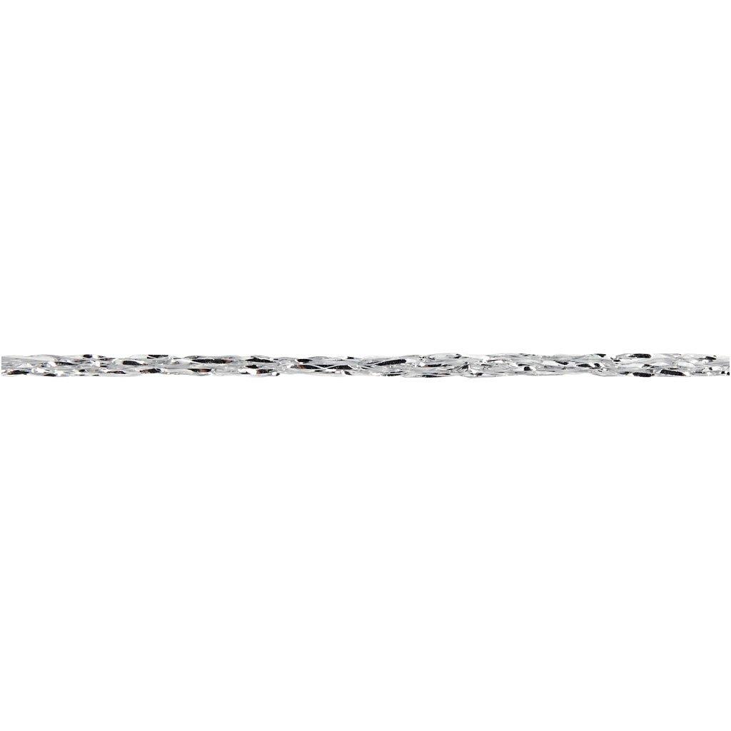 silver L: 160 m 25g Glitter Yarn