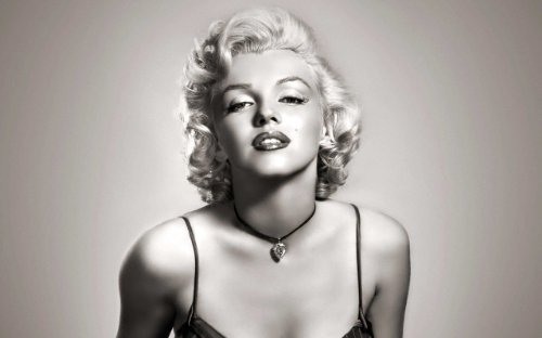 Iconic Marilyn Monroe Black And White Large Canvas Prints Wall Art