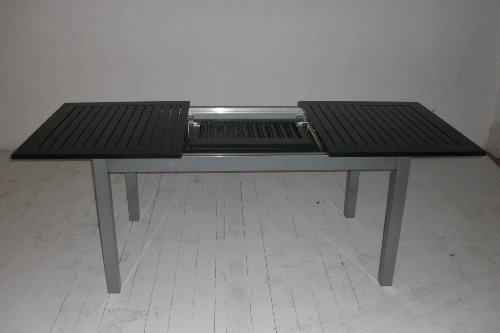 Gartentisch ausziehbar kettler  Amazon.de: Voll Aluminium Gartentisch 220/280 x 100 cm mit ...