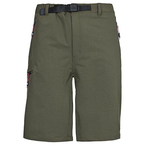 Trespass Garison Mens Active Quick Dry Outdoor Summer Hiking Shorts With Belt by Trespass