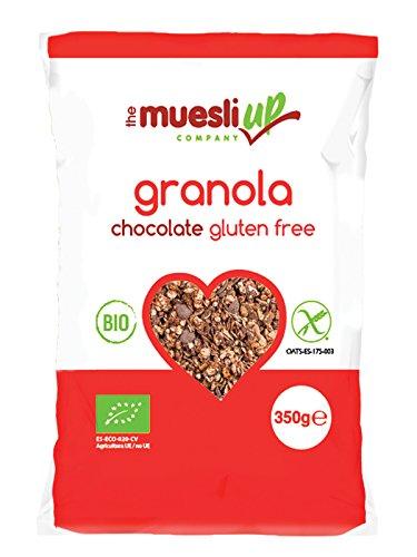 Granola chocolate Bio gluten free - Muesli Up - 350g: Amazon.es: Alimentación y bebidas