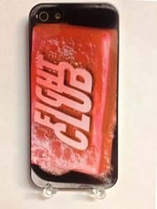 (618bi5) Fight Club Soap iPhone 5 Black Case