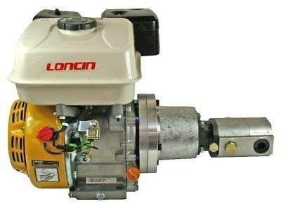 LONCIN petrol engine hydraulic Hi-Lo Gear pump, 5 5HP, 36 L/min