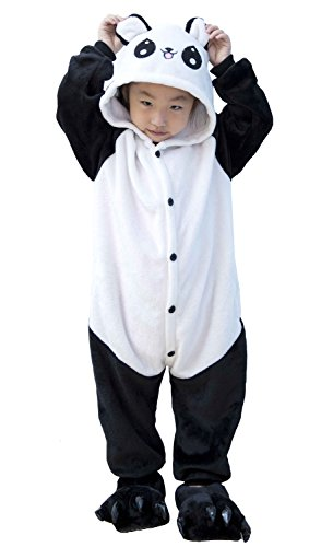 Kids Animal Halloween Children' Cosplay Cartoon Kigurumi Costumes Panda Onesie Tonwhar s AwnOq70Iq