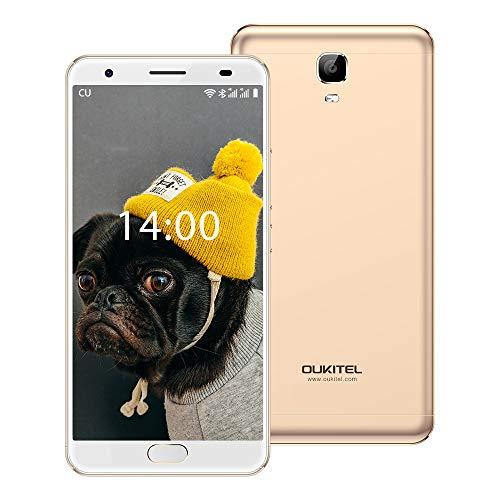 "OUKITEL Ok6000 Plus 5.5"" FHD 6080mAh Big Battery Fast Charging Unlocked Cell Phone, Android7.0 Octa Core, Dual SIM, 4GB…"
