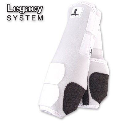 Classic Equine Legacy SMB Boots FRT Small White by Classic Equine