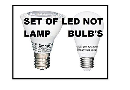 Ikea E17, E26 Not Lamp LED Bulbs