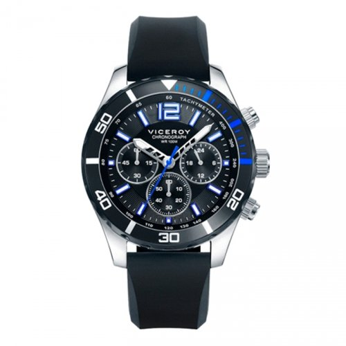 Watch Viceroy 401023-55 Silicone Chronograph Black Man