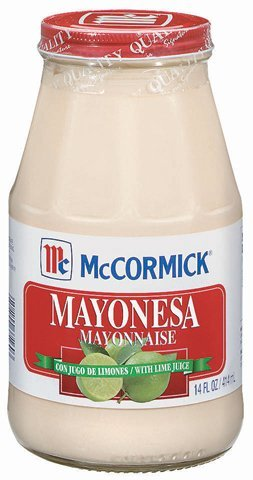 Mc Cormick, Mayonesa W Lime Juice, 14 Oz (Pack of 3) 1 Add to chicken, tuna, potato or pasta salad. Use as a spread for sandwiches or grilled corn. Brush over chicken, pork or seafood on the grill to add flavor and moistness.
