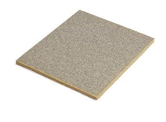 "3M Flexible Foam Sanding Sponge, 5-1/2"" Length x 4-1/2"" Width x 0.18"" Thick, Medium Grit (Pack of 250)"