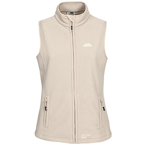 Trespass Womens/Ladies Tilda Full Zip Microfleece Gilet/Bodywarmer (XXS) (Mushroom)