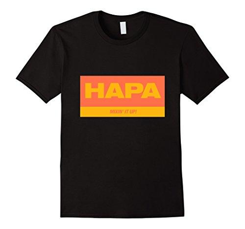 Hapa T Shirt Hapa Mixin It Up - Fashion Hapa