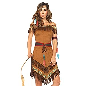 Leg Avenue Women's 4 Piece Native Princess Costume