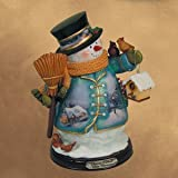 Thomas Kinkade White Christmas Snowman Issue #7