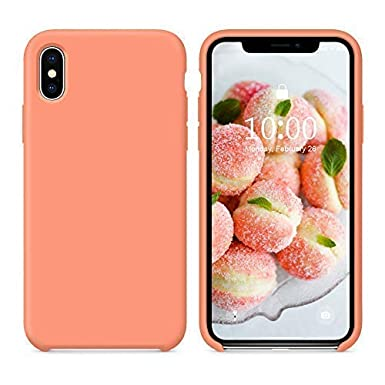 case iphone xs max peach