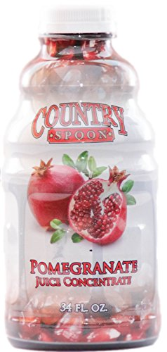 Pomegranate Juice Concentrate by Country Spoon (34 oz.) (Health Benefits Of Pomegranate Juice Pom Wonderful)