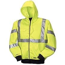 DEWALT DCHJ071B-S 20V/12V MAX Bare High-Vis Hooded Heated Jacket, High-Vis, Small