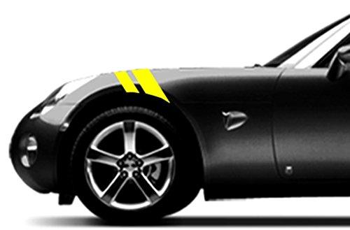 Pontiac SOLSTICE Fender Hash Mark Bars Vinyl Racing Stripes Grand Sport Graphic Decals 2