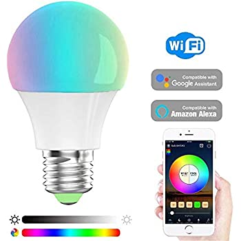 Haodeng Smart Led Wifi Light Bulb E27 A19 Edison Bulb Timer Amp Sunrise Amp Sunset Dimmable