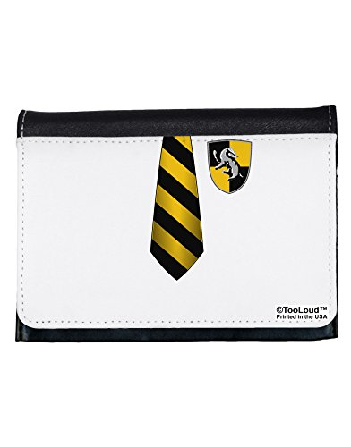 TooLoud Wizard Uniform Yellow and Black AOP Ladies Wallet All Over Print (Hogwarts School Uniform)