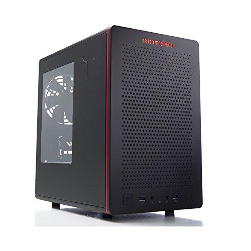 Riotoro CR280 Mini-ITX Tower Gaming Case, Window