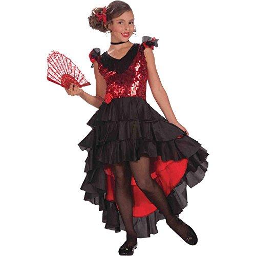 Spanish Dancer Kids Costume - Small by Forum Novelties (Spanish Dancer Kids Costume)