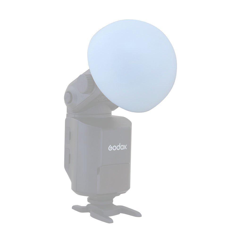 Godox Ad-s17 Witstro Ad360 Dome Diffuser Wide Angle Soft Focus Shade Diffuser for Godox AD200 AD360II AD180 AD360 Speedlite Flash by Fomito