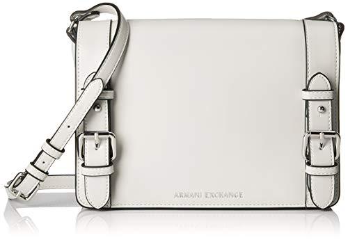 A|X Armani Exchange Medium Bag, bianco - white 5