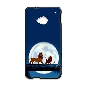 Lion King Black HTC M7 case