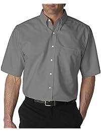 Mens Grey Button Down Shirt