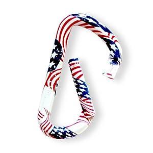 American Flag Carabiner pack of 10