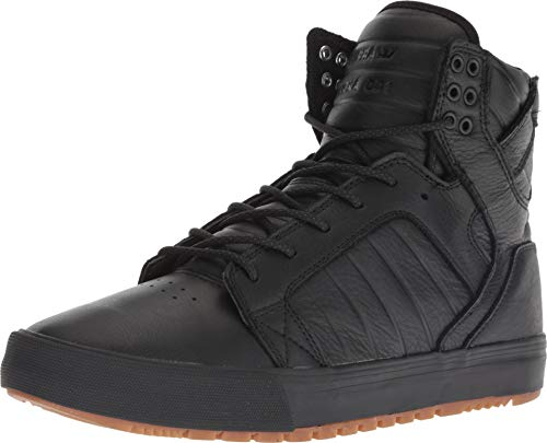 (Supra Men's Skytop CW Winter Black/Black/Gum 12 Women / 10.5 Men D US )