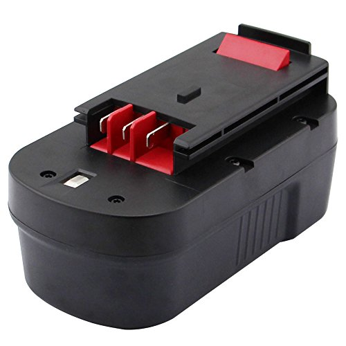3.0Ah HPB18 HPB18-OPE Battery for Black & Decker 18V fs18bx 244760-00 A1718 FS18FL FSB18 fs18c FS18FL black and decker 18volt Firestorm Cordless Power Tools Slide Pack battery by ERJER