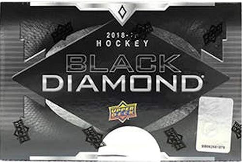 2018/19 Upper Deck Black Diamond NHL Hockey box (5 cards + 1 Exquisite card)