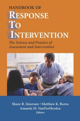 Download Handbook of Response to Intervention Pdf