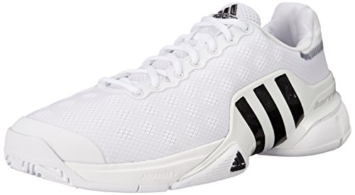 adidas Performance Men's Barricade 2015 SW19 Tennis Shoe White/Black/White 9 M US