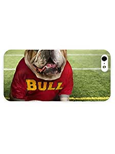 3d Full Wrap Case for iPhone 5/5s Animal Dog And Ball
