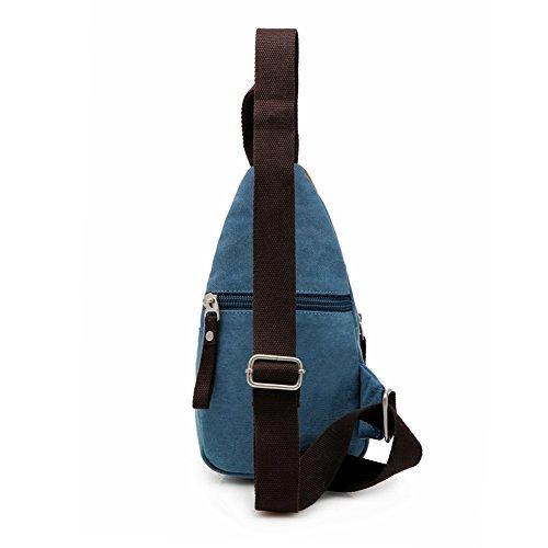 NUBEN Azul al hombre Bolso hombro para azul azul FAFr6Sq