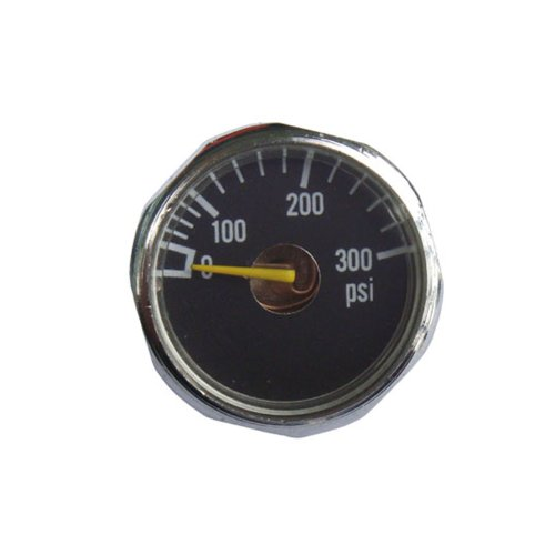 Gauge Paintball Psi (New 2x 300 PSI Paintball Micro Gauge Free Shipping)