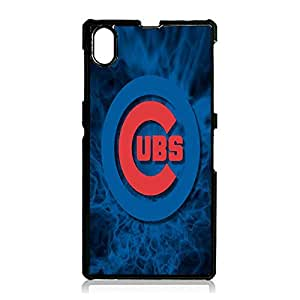 Novel Design Chicago Cubs Phone Case For Sony Xperia Z1 Cubs Simple Style