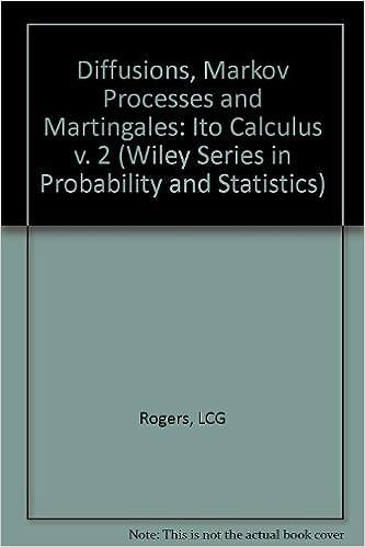 Diffusions, Markov processes, and martingales