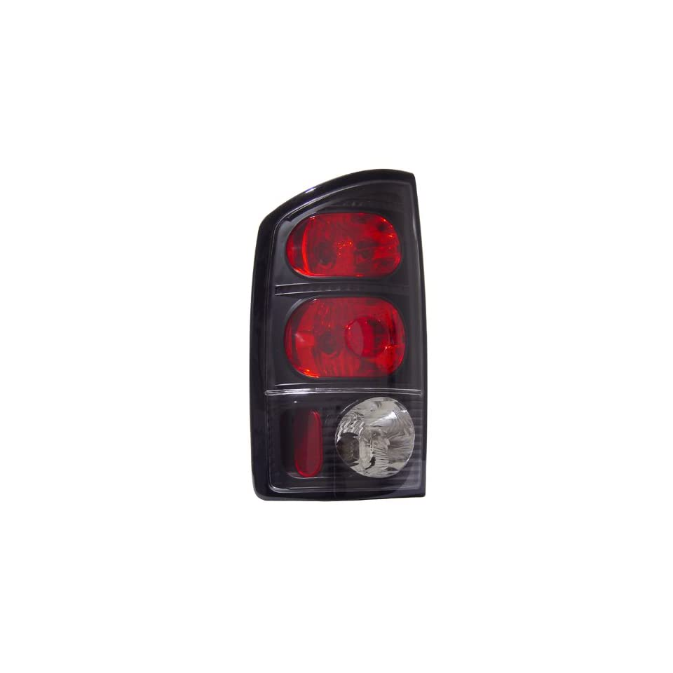 DODGE RAM 02 06 TAIL LIGHTS CRYSTAL LENS JDM BLACK