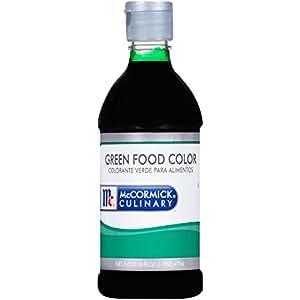 Amazon.com : McCormick Culinary Green Food Color, 16 fl oz, Premium ...