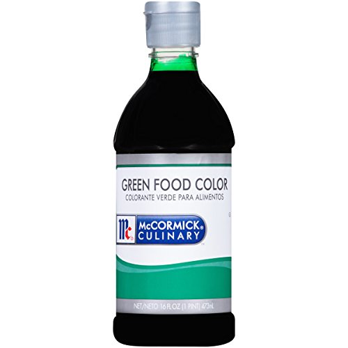 McCormick Culinary Green Food Color, 1 pt, Premium Quality and Color in Every Batch, Great for Holiday and Event Recipes