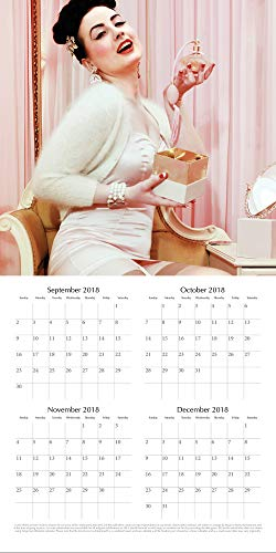 2019 Wall Calendar - Burlesque Calendar a847f93b8
