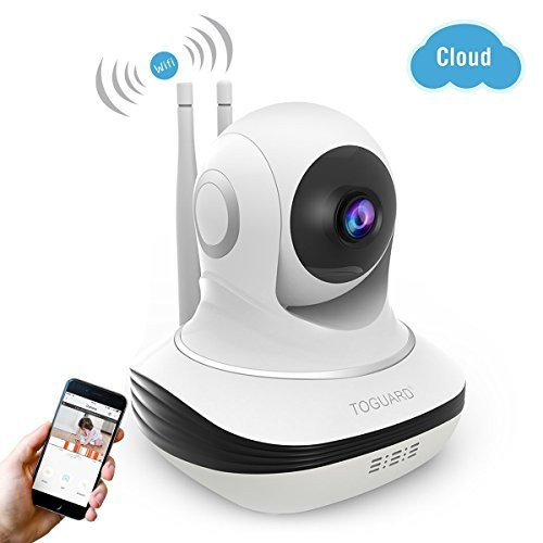 Wireless Security Camera, 720P HD WiFi Baby Monitor Home Sur